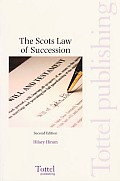 The Scots Law of Succession - Second Edition
