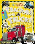 Busy Kids Sticker Books Tractors and Trucks