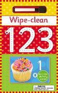Wipe-Clean 123: Number Learning Fun [With Cards and Pen]