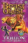 Beast Quest 12 Trillion the Three Headed Lion