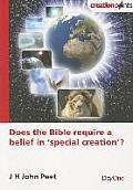 Does the Bible Require a Belief in 'Special Creation'?