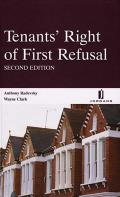 Tenants' Right of First Refusal - Second Edition