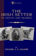 The Irish Setter: Its History & Training