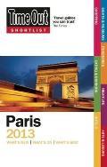 Time Out Shortlist Paris 2013