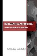 Representing Minorities: Studies in Literature and Criticism