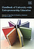 Handbook of University-wide Entrepreneurship Education