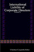 International Liability of Corporate Directors - Volume II
