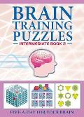 Brain Training Puzzles Intermediate Book 2