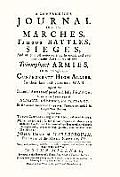 Compendious Journal of All the Marches Famous Battles & Sieges (of Marlborough)