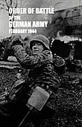 Order of Battle of the German Army, February 1944