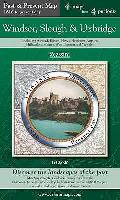 Windsor, Slough & Uxbridge (PPR-wsu): Four Ordnance Survey Maps From Four Periods From Early 19TH Century To the Present Day