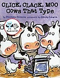 Click Clack Moo Cows That Type Book & CD