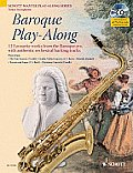 Baroque Play-Along: 12 Favorite Works from the Baroque Era [With CD (Audio)]