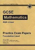 Gcse Maths Aqa Linear Practice Papers - Foundation