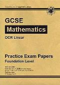 Gcse Maths Ocr Linear Practice Papers - Foundation