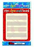 Wipe Clean Music Board: Portrait Edition