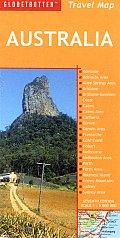 Globetrotter Australia Travel Map 8th Edition