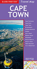 Cape Town Travel Map, 8th (Globetrotter Travel Maps)