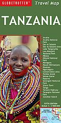 Globetrotter Tanzania Travel Map (Globetrotter Travel Maps)