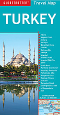 Globetrotter Turkey Travel Map (Globetrotter Travel Maps) Cover