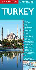 Turkey Travel Map 6th Edition