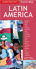 Latin America Travel Map 2nd Edition