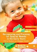 Recognising and Planning for Special Needs in the Early Years [With CDROM]