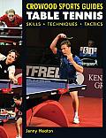 Table Tennis: Skills, Techniques, Tactics