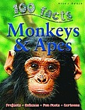 Monkeys & Apes 100 Facts