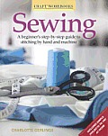 Sewing: A Beginner's Step-By-Step Guide to Methods and Techniques. Charlotte Gerlings Cover