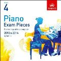 Piano Exam Pieces 2013 & 2014 CD, Abrsm Grade 4: Selected From the 2013 & 2014 Syllabus