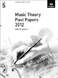Music Theory Past Papers 2012, Abrsm Grade 5