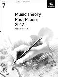 Music Theory Past Papers 2012, Abrsm Grade 7