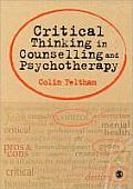 Critical Thinking In Counselling & Psychotherapy