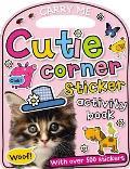 Fun on the Run Cutie Corner Sticker Activity Book