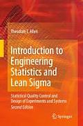 Introduction To Engineering Statistics & Lean Sigma 2nd Edition