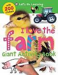 I Love the Farm Giant Activity Book