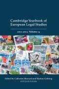 Cambridge Yearbook of European Legal Studies - Volume 14, 2011-2012