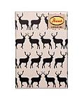 Anorak Kissing Stags Notecard Set