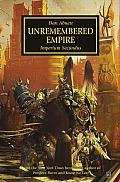 Unremembered Empire Horus Heresy