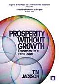 Prosperity Without Growth: Economics for a Finite Planet Cover