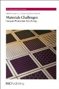 RSC Energy and Environment #12: Materials Challenges: Inorganic Photovoltaic Solar Energy