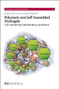 Polymeric and Self Assembled Hydrogels: From Fundamental Understanding to Applications