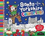 Santa Is Coming To Yorkshire Colouring