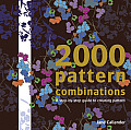 2000 Pattern Combinations for Graphic, Textile and Craft Designers Cover