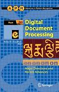 Digital Document Processing: Major Directions and Recent Advances (Advances in Pattern Recognition) Cover
