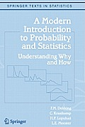 A Modern Introduction to Probability and Statistics: Understanding Why and How (Springer Texts in Statistics) Cover