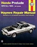Honda Prelude Automotive Repair Manual: 1979 thru 1989 (Haynes 42040)