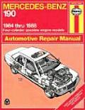 Mercedes-Benz 190: 1984 Thru 1988 Four-Cylinder Gasoline Engine Models