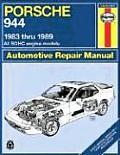 Porsche 944 Repair Manual 1983 1989 All Models Including Turbo